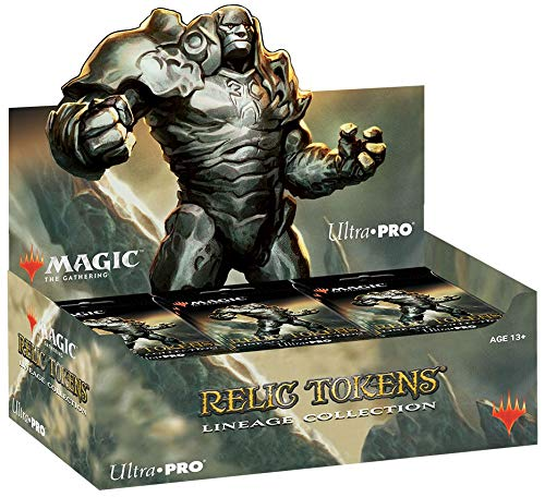 Magic: The Gathering Relic Tokens - Lineage Collection Display Box