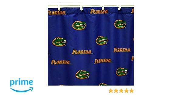 Florida Gators Printed Shower Curtain Cover