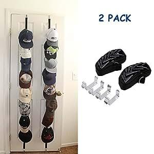 2 Unidades Caprack, Wommty Deportes Bola Cap Gorra de Béisbol Sombrero Accesorio de Almacenamiento /