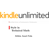 Style in Technical Math