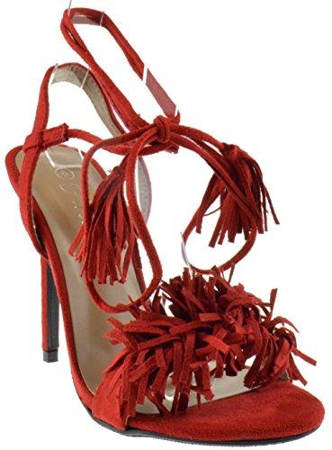 Rubina Womens Fringe Open Sandals product image