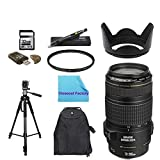 Basic Shooters Package for Canon EOS 1Dx: Includes 1x Canon EF 70-300mm f/4-5.6 IS USM Lens for Canon EOS SLR Cameras, 1x Ultra High Speed 32GB SDHC Memory Card, 1x USB SD Card Reader, 1x Deluxe Back Pack, 1x UV Filter, 1x Lens Cleaning Pen, 1X Tripod,1X