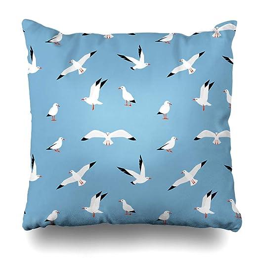 Ahawoso - Funda de almohada de color beige claro abstracto ...
