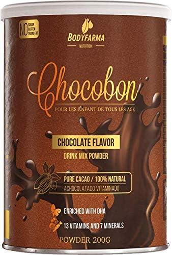 Achocolatado vitaminado em pó Chocobon 200g com DHA