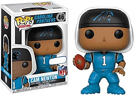 best sneakers 7a590 0048a Funko Pop! Football Carolina Panthers Cam Newton #46 (Color Rush Uniform)