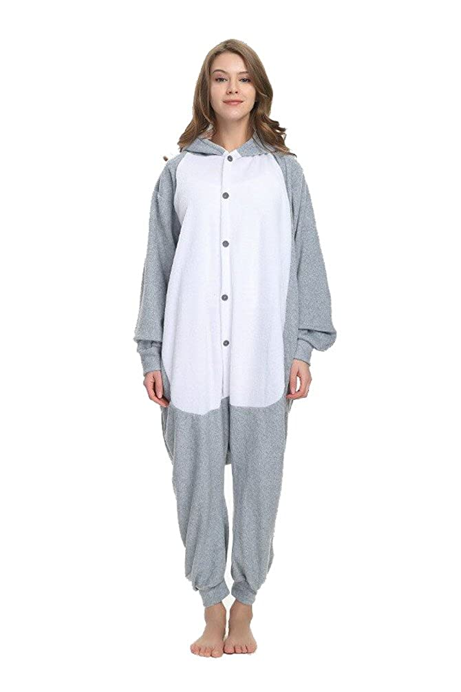 Animal Pajamas Unisex Adult Cosplay Costumes Unicorn Onesie Adult Pajamas Animal Halloween Cosplay Costume Sleepwear
