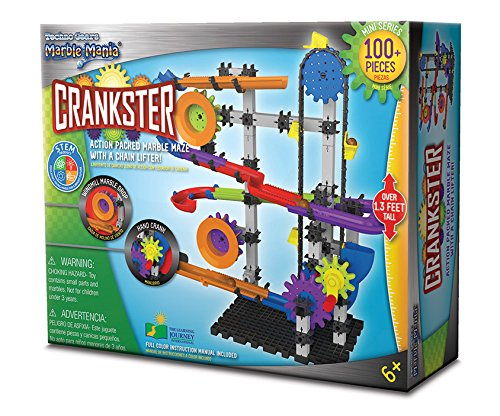 The Learning Journey Techno Gears Marble Mania, Crankster (100+ pcs)