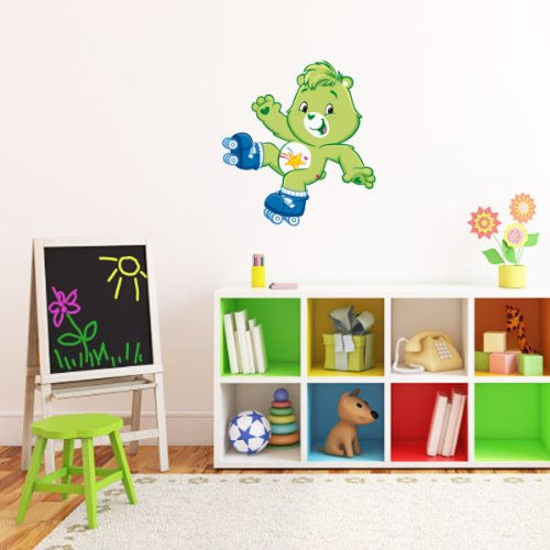 Bear Oopsy Care (Care Bears Oopsy bear Wall Graphic Decal Sticker 25