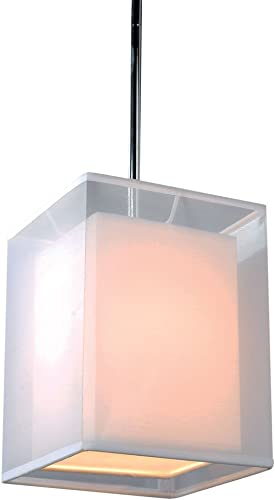 Bromi Design B5501 Phoenix Square 1 Light Pendant