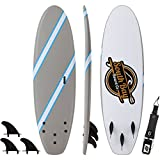 SBBC - Soft Top Surfboard - || 6ft Guppy || - Fun Performance Foam Surfboards | Great Surf Board for All Surfing Skill Levels