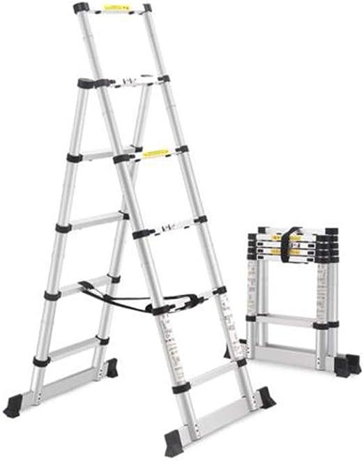 XUQIANG Escalera Plegable Multifunción Escalera telescópica ...