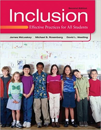 Inclusion: Effective Practices For All Students (2nd Edition) Download Pdf