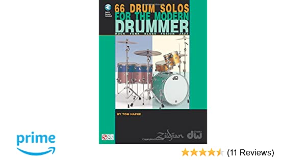 66 Drum Solos For The Modern Drummer Rock Funk Blues