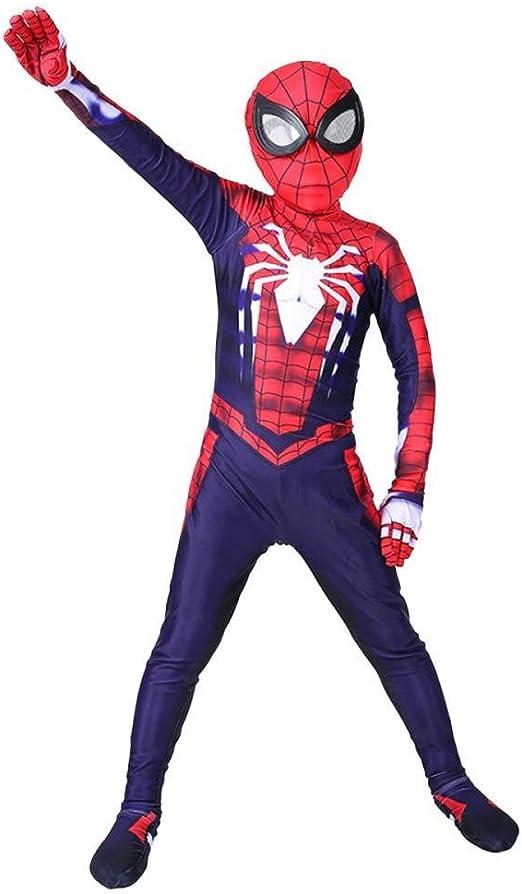 YQFZ Disfraz De Cosplay De Spiderman para Niños Disfraz De Disfraz ...