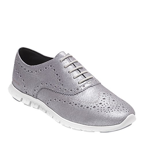 Cole Haan Women's Zerogrand Wing Ox, CH Argento Metallic, 7.5 B US by Cole Haan (Image #6)