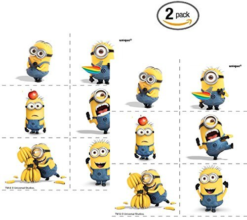 Despicable Me Tattoos, 24ct (2)