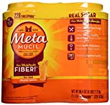 Metamucil With 100% Natural Psylluim Fiber, Orange, 48.2-Ounce Bottle (Pack of 2)