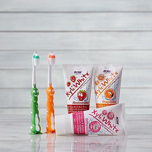 海外直送品Now Foods XyliWhite Kids Toothpaste Gel Strawberry Splash, Strawberry Splash 3 oz