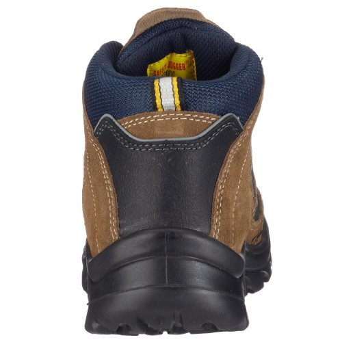 Safety Jogger - Calzado de protección de cuero nobuck unisex Marrón