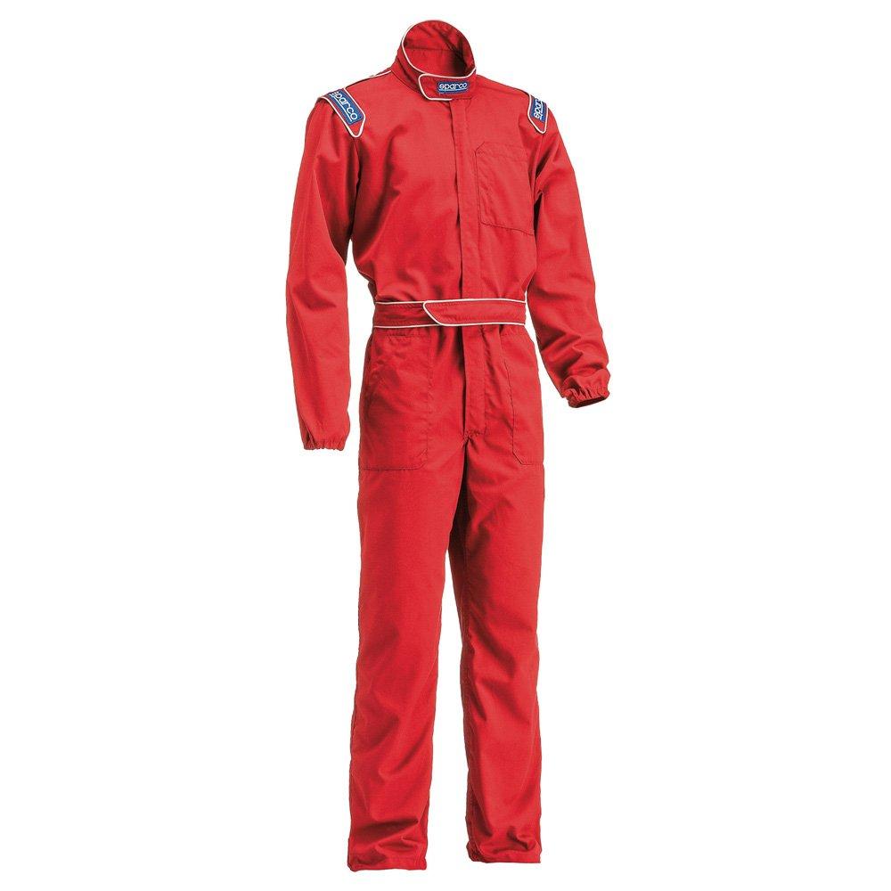 スパルコ メカニックスーツ MX3 B019C7TF2K Lサイズ (身長:179-185cm)|レッド レッド Lサイズ (身長:179-185cm)