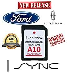 Ford Lincoln A10 SYNC SD Card Navigation...