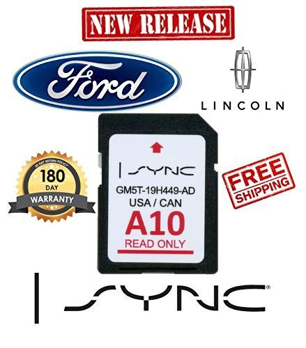Ford Lincoln A10 SYNC SD Card Navigation 2019 US/Canada Map Updates A9 A8 A7 A6 A5 ()