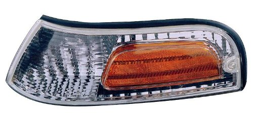 Depo 331-1557L-US Ford Crown Victoria Driver Side Replacement Parking/Side Marker Lamp (Crown Side Marker Assembly)