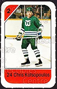 Chris Kotsopoulos Hockey Card 1982-83 Post Cereal #107 Chris Kotsopoulos