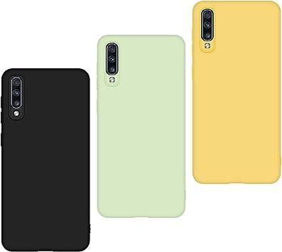 3 x Funda Samsung Galaxy A70 2019, Carcasa Samsung Galaxy A70 2019 ...