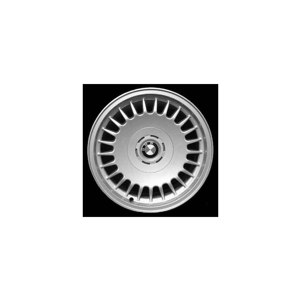 96 01 BMW 750IL 750 il ALLOY WHEEL RIM 16 INCH, Diameter 16, Width 7.5 (25 HOLE), 20mm offset Style #15, SILVER, 1 Piece Only, Remanufactured (1996 96 1997 97 1998 98 1999 99 2000 00 2001 01) ALY59235