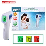 Flyalone⭐ Infrared Thermometer, Digital LCD Ear