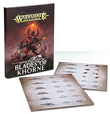 Warscroll Cards: Blades of Khorne by Games Workshop