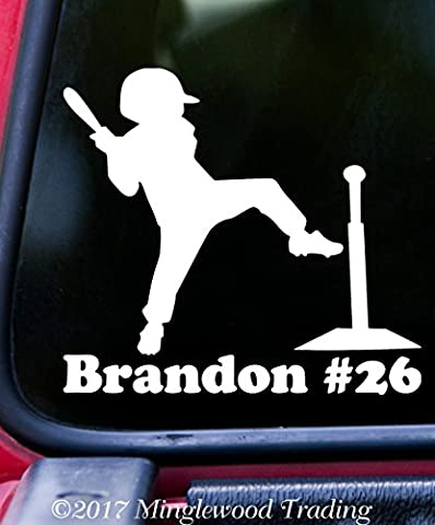 TEE BALL PLAYER w/Personalized Name 5