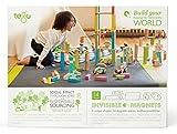 14 Piece Tegu Magnetic Wooden Block Set, Natural