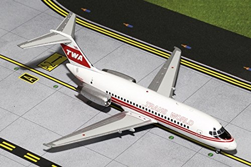 Price comparison product image TWA DC-9-10 Red Stripe Livery N1058T (1:200)