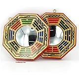 BAGUA TRADITIONNEL - FENG SHUI de PROTECTION - Miroir Concave - 10,5 cm de Diamètre