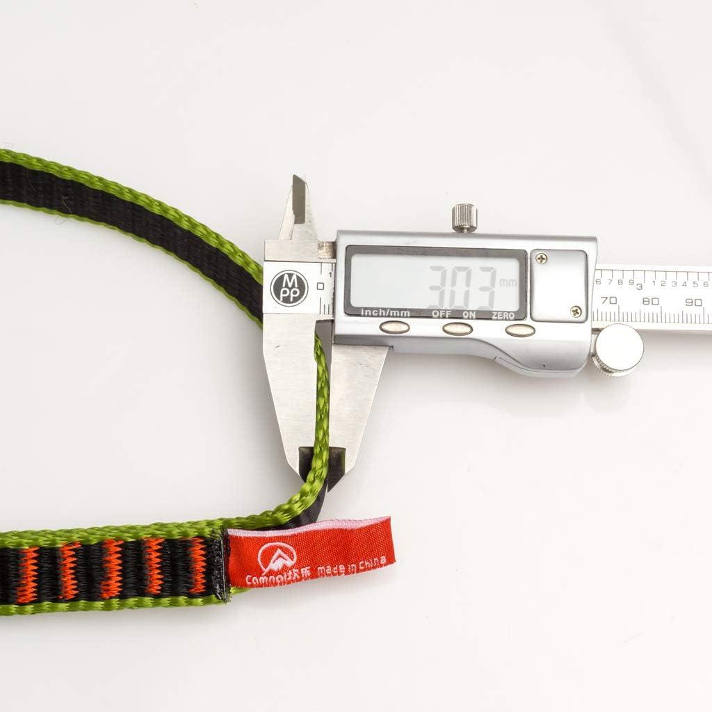 SM SunniMix Corde Escalade en Rappel pour Alphiniste Corde de S/écurit/é Ficelage Corde Auxiliaire Equipement de Protection