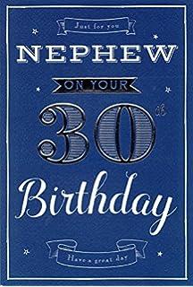 Nephew 30th Birthday Card Amazon Co Uk Office Products