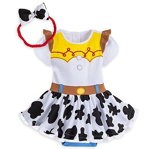 Disney Jessie Costume Bodysuit for Baby Size 18-24 MO White