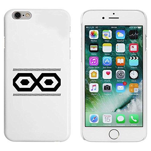 Blanc 'Motif Hexagonal' étui / housse pour iPhone 6 & 6s (MC00005986)