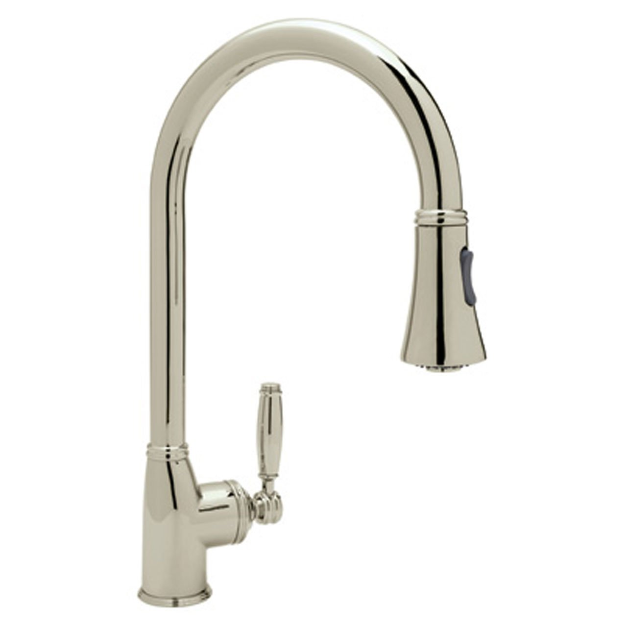 Rohl MB7928LMSTN-2 Michael Berman Kitchen Faucet with Pull Down ...