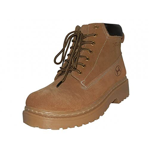 d2fa69f564c Amazon.com   Easy USA Himalayan Mens 6 inch Suede Work Boots (13 ...
