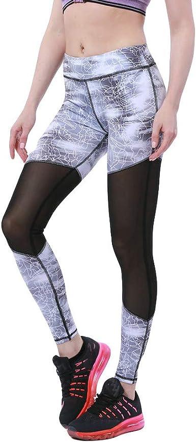 Leggins mujer push up Leggings yoga mujer pantalones deportivos ...