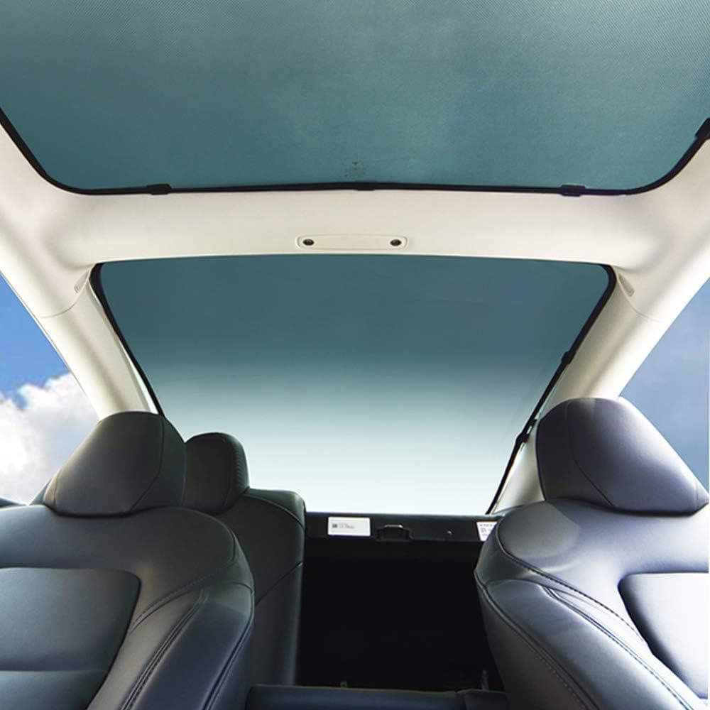 BASENOR Model 3 Front Glass Roof Sunshade Window Sunroof ...