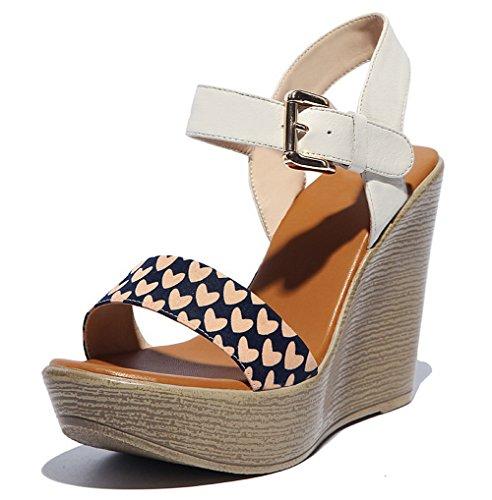 Adee , Damen Sandalen, beige - beige - Größe: 35