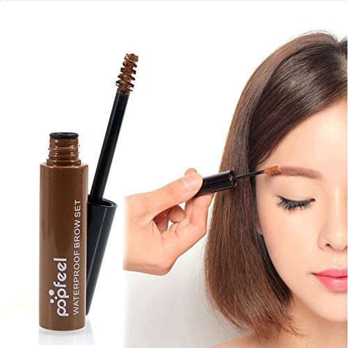 Waterproof Eyebrow Mascara Dye Cream Tint Gel Brush Waterproof Beauty Makeup Tool Eye Brow Shadow Makeup Set Kit Dye Eyebrow Gel Enhancer (Gift Card My Balance)