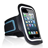 Red Star Tec iPhone 5 Armband for Running Keep Your iPhone Safe While You Run, Work Out or Play Sports Adjustable Armband Holder for iPhone 5, 5S & 5C & iPod 5