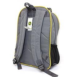 John Deere Little Boys' Backpack, Grey, One S