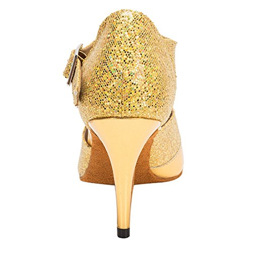 de Miyoopark 5cm HW180503 Salon Heel 8 Gold Femme MiyooparkUK Danse Bq14v