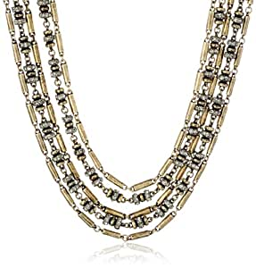 """Giles and Brother Pave Bundle Necklace, 20"""""""